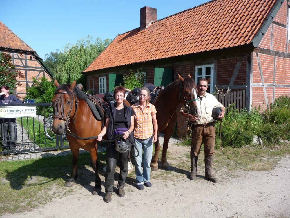 begeisterte Wanderreiter aus dem Schwabenland